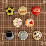 Prima - Allstar Collection - Flair Buttons