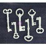 Prima - Resin Collection - Resin Embellishments - Keys