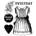 Prima - Anna Marie Collection - Clear Acrylic Stamps - One