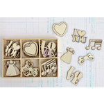 Prima - Anna Marie Collection - Wood Icons in a Box