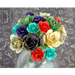 Prima - School Memories Collection - Flower Embellishments - 1