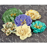 Prima - School Memories Collection - Flower Embellishments - 4