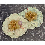 Prima - School Memories Collection - Flower Embellishments - 7