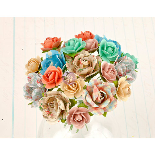 Prima - Delight Collection - Flower Embellishments - One
