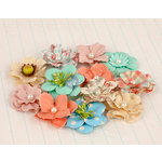 Prima - Delight Collection - Flower Embellishments - Two