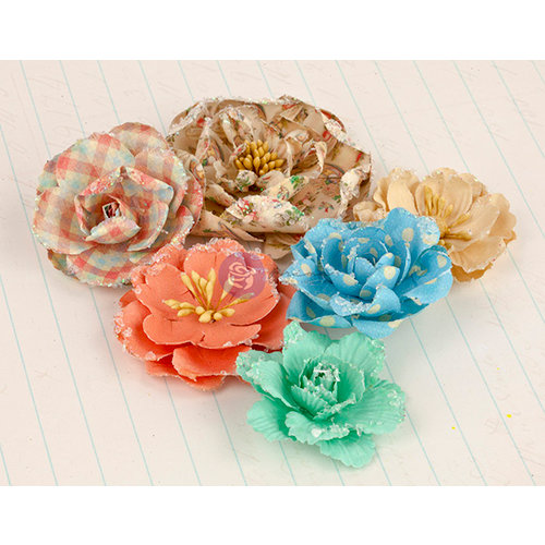 Prima - Delight Collection - Flower Embellishments - Four