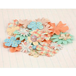 Prima - Delight Collection - Flower Embellishments - Six