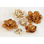 Prima - Bellas Collection - Flower Embellishments - Four