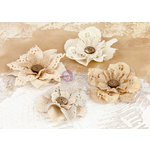 Prima - La Tela Collection - Flower Embellishments - 3