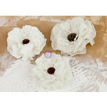 Prima - La Tela Collection - Flower Embellishments - 6