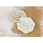 Prima - La Tela Collection - Flower Embellishments - 7