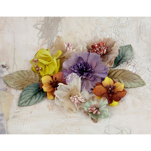 Prima - Olivia Collection - Flower Embellishments - 2