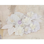 Prima - Olivia Collection - Flower Embellishments - 3