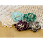 Prima - Serenity Collection - Flower Embellishments - 4