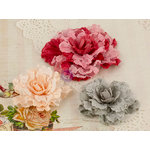 Prima - Scarlett Collection - Flower Embellishments - Two