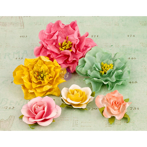 Prima - Layla Collection - Flower Embellishments - Two