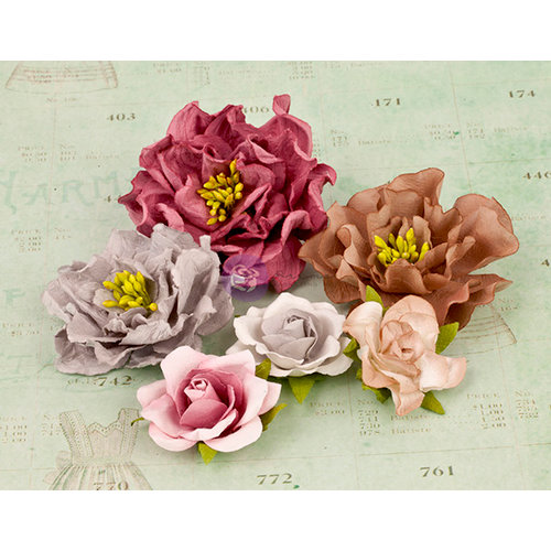 Prima - Layla Collection - Flower Embellishments - Four