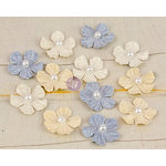 Prima - Perla Collection - Flower Embellishments - Two