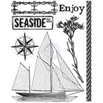 Prima - Seashore Collection - Clear Acrylic Stamp - One