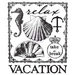 Prima - Seashore Collection - Clear Acrylic Stamp - Two
