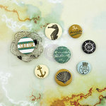 Prima - Seashore Collection - Flair Buttons
