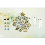 Prima - Seashore Collection - Metal Brads