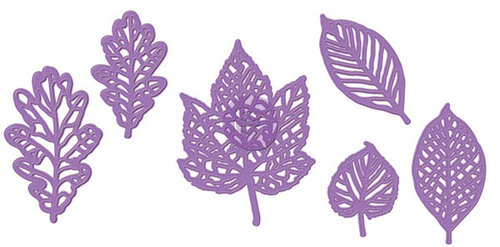 Prima - Metal Dies - Leaves - Set of Six