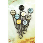 Prima - Seashore Collection - Paper Clips - Typewriter Keys