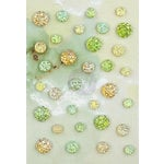 Prima - Seashore Collection - Say It In Crystals - Self Adhesive Jewel Art - Bling