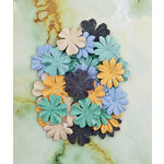 Prima - Seashore Collection - Flower Embellishments - Mermaid