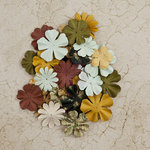 Prima - Time Travelers Memories Collection - Flower Embellishments - Sands of Time
