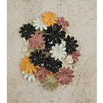Prima - Time Travelers Memories Collection - Flower Embellishments - Time Flies
