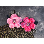 Prima - Plume Collection - Flower Embellishments - Candy