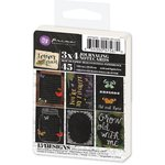 Prima - Forever Green Collection - 3 x 4 Artist Trading Card Pad