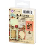Prima - Cigar Box Secrets Collection - 3 x 4 Artist Trading Card Pad