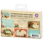 Prima - Cigar Box Secrets Collection - 4 x 6 Journaling Cards