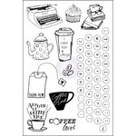 Prima - Coffee Break Collection - Cling Mounted Stamps