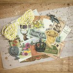 Prima - Cigar Box Secrets Collection - Ephemera Pack