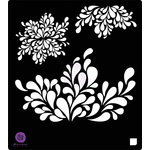 Prima - Stencils Mask Set - 6 x 6 - Decor 2