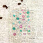 Prima - Coffee Break Collection - Say It In Crystals - Self Adhesive Jewels