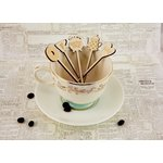 Prima - Coffee Break Collection - Wood Veneer Stick Pins