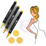 Prima - Mixed Media - Markers - Prima Palette Set - Blonde Skin