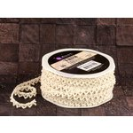 Prima - Trim - Lace - 20 Yards - Almond