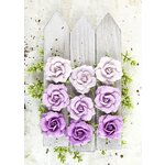 Prima - London Collection - Flower Embellishments - Royal