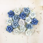 Prima - Melbourne Collection - Flower Embellishments - Harbour