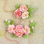 Prima - Winthrop Collection - Flower Embellishments - Tourmaline