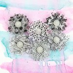 Prima - Juno Collection - Flower Embellishments - Dice