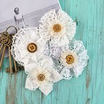 Prima - Sarasota Collection - Flower Embellishments - Dreamy