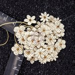 Prima - Hillsboro Collection - Flower Embellishments - Butter