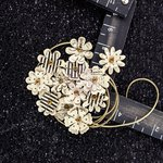 Prima - Hillsboro Collection - Flower Embellishments - Maple